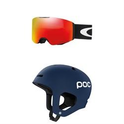 Oakley Fall Line Goggles + POC Auric Helmet