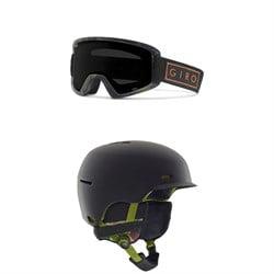 Giro Semi Goggles + Anon Highwire Helmet