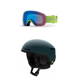 Smith Skyline Goggles + Smith Code MIPS Helmet