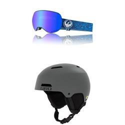 Dragon X2 Goggles + Giro Ledge MIPS Helmet