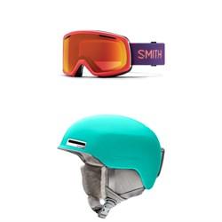 Smith Riot Goggles - Women's + Smith Allure Helmet - Women's