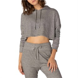 Beyond Yoga Wonders Never Fleece Super Cropped Hoodie - Women's