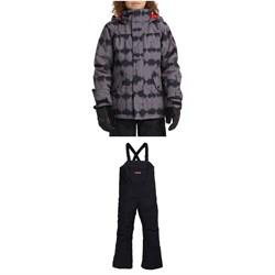 Burton Symbol Jacket + Burton Skylar Bibs - Kids'