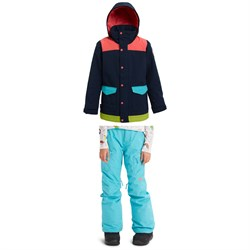Burton Elstar Parka Jacket ​+ Burton Elite Cargo Pants - Girls'