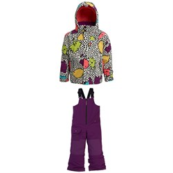 Burton Elodie Jacket + Burton Maven Bibs - Little Kids'