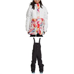 Nikita Sitka Jacket ​+ Nikita Evergreen Bibs - Big Girls'