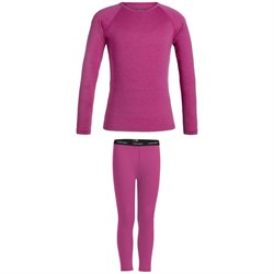 Icebreaker 200 Oasis Long Sleeve Crew ​+ Oasis Leggings - Kids'