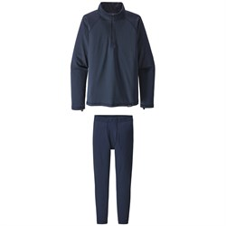 Patagonia Capilene®  Heavyweight Zip-Neck Top ​+ Patagonia Capilene Pants - Big Boys'