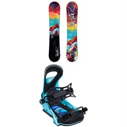 Lib Tech No. 43 HP C2X Snowboard ​+ Bent Metal Upshot Snowboard Bindings - Women's 2020