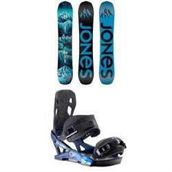 Jones Frontier Snowboard 2020 + Jones Mercury Snowboard Bindings 2020