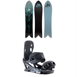 Jones Storm Chaser Snowboard ​+ Jones Mercury Snowboard Bindings 2020