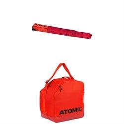 Atomic RS Double Ski Wheelie Bag + Atomic Boot & Helmet Bag