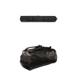 Dakine Boundary Ski Roller Bag + evo Deluxe 65L Duffel