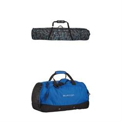 Burton Wheelie Gig Snowboard Bag + Burton Boothaus 2.0 Large Bag