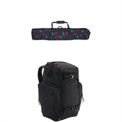 Burton Wheelie Gig Snowboard Bag ​+ Burton Booter Backpack