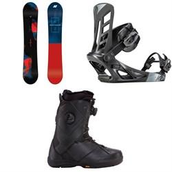 K2 Raygun Snowboard + K2 Indy Snowboard Bindings + K2 Maysis Snowboard Boots