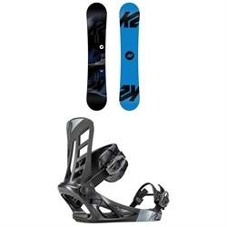 K2 Standard Snowboard + K2 Indy Snowboard Bindings