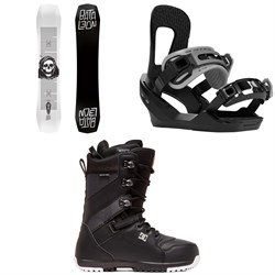 Bataleon Disaster Snowboard ​+ Switchback Destroyer Snowboard Bindings ​+ DC Mutiny Snowboard Boots 2020