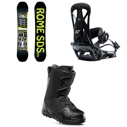 Rome Mechanic Snowboard ​+ Rome United Snowboard Bindings ​+ thirtytwo Exit Snowboard Boots 2020