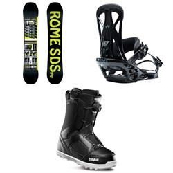 Rome Mechanic Snowboard ​+ Rome United Snowboard Bindings ​+ thirtytwo STW Boa Snowboard Boots