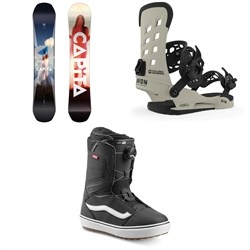 CAPiTA Defenders of Awesome Snowboard ​+ Union STR Snowboard Bindings ​+ Vans Aura OG Snowboard Boots 2020