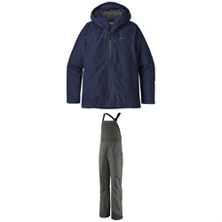 Patagonia Powder Bowl Jacket ​+ Snowdrifter Bibs