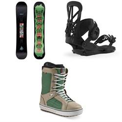 CAPiTA Horrorscope Snowboard + Union Flite Pro Snowboard Bindings + Vans Hi Standard OG Snowboard Boots 2020