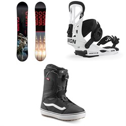 CAPiTA Outerspace Living Snowboard ​+ Union Flite Pro Snowboard Bindings ​+ Vans Aura OG Snowboard Boots 2020