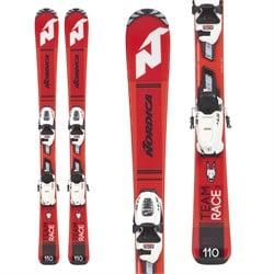 Nordica Team J Race Skis + Jr. 4.5 Bindings - Boys'