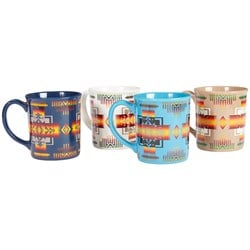 Pendleton Ceramic Mugs - Set of 4