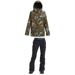 Burton Runestone Jacket + Burton Gloria Pants - Women's