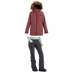 Burton Lelah Jacket + Burton Gloria Pants - Women's