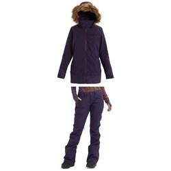 Burton Lelah Jacket + Burton Vida Pants - Women's