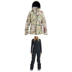 Burton AK 2L GORE-TEX Embark Jacket ​+ AK 2L GORE-TEX Kimmy Bib Pants - Women's