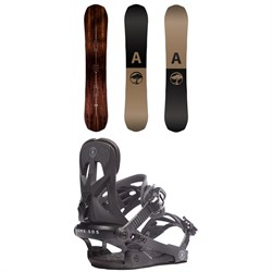 Arbor Element Snowboard + Rome Arsenal Snowboard Bindings