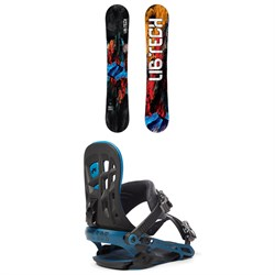 Lib Tech TRS HP C2X Snowboard ​+ Rome 390 Boss Snowboard Bindings