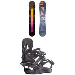 Rossignol ONE LF Snowboard + Rome Arsenal Snowboard Bindings