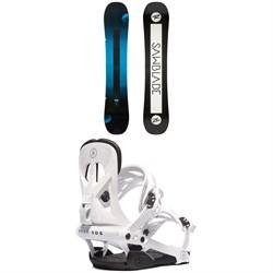 Rossignol Sawblade Snowboard + Rome Arsenal Snowboard Bindings