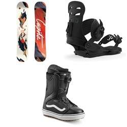 CAPiTA Space Metal Fantasy Snowboard ​+ Union Rosa Snowboard Bindings ​+ Vans Encore OG Snowboard Boots - Women's 2020