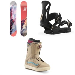 CAPiTA Paradise Snowboard + Union Juliet Snowboard Bindings + Vans Encore OG Snowboard Boots - Women's 2020