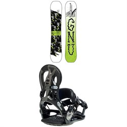 GNU Money C2E Snowboard ​+ GNU Cheeter Snowboard Bindings 2020