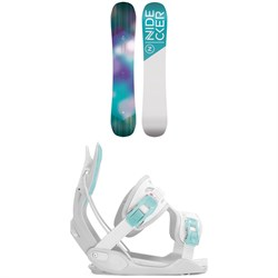 Nidecker Angel Snowboard - Women's ​+ Flow Haylo Snowboard Bindings - Women's 2020