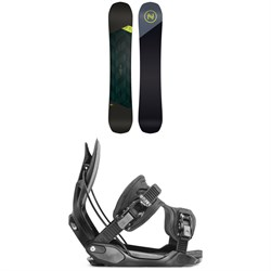 Nidecker Merc Snowboard ​+ Flow Alpha Snowboard Bindings