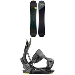 Nidecker Merc Snowboard + Flow Fenix Snowboard Bindings 2020