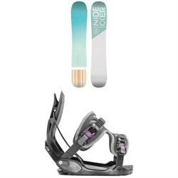 Nidecker Elle Snowboard - Women's + Flow Haylo Snowboard Bindings - Women's