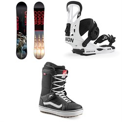 CAPiTA Outerspace Living Snowboard ​+ Union Flite Pro Snowboard Bindings ​+ Vans Hi Standard OG Snowboard Boots 2020
