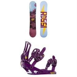 Rossignol Myth Snowboard - Women's + Rossignol Myth Snowboard Bindings - Women's 2020
