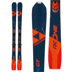 Fischer RC One 86 GT Skis ​+ RSW 12 GW Powerrail Bindings 2021