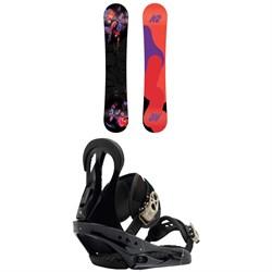 K2 First Lite Snowboard - Women's + Burton Citizen Snowboard Bindings - Women's