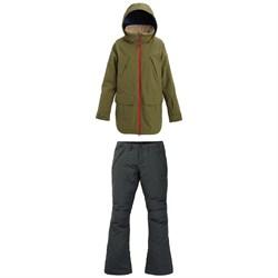 Burton Prowess Jacket + Burton Society Pants - Women's